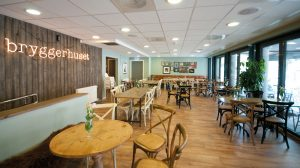 Restaurant- og cafelokale Bryggerhuset