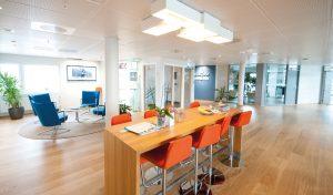 Kynningsrud Eiendom - Høy standard i kontorlokalene