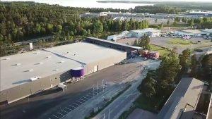 Kynningsrud Fastighet har utvecklat fastigheten i Karlstad i samarbete med K-rauta Onninen