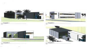 Bygg Lillehammer-illustrasjon